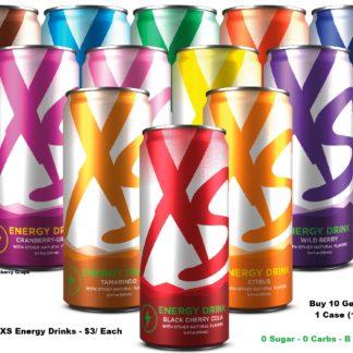 XS Energy Drinks
